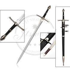 "China 49,6"" moviesword Lord der Ringe aragorn Metall-strider Klinge mit Messer fournisseur"